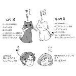 スタッフの猫と人の自己紹介