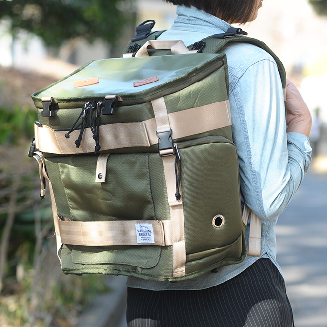 MANDARINE BROTHERS マンダリンブラザーズ SCOUT CARRY BACKPAC