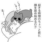 モーニング猫